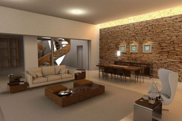 Paredes de piedra m rmoles ben tez for Piedra para decorar paredes interiores