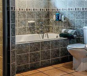 cuarto de bano de piedra