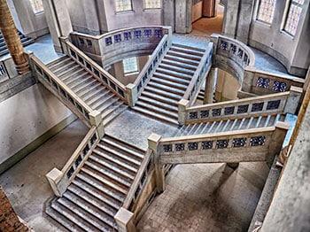 escaleras de piedra madrid uno