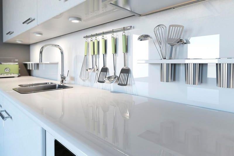 limpiar las encimeras de cocina